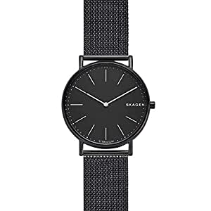 Skagen Men's Quartz Wrist Watch analog Display and Stainless Steel Strap, SKW6484