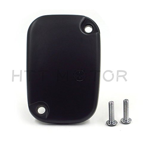 (HTTMT MT249-064-M Black Hydraulic Clutch Master Cylinder Cover Top Lid Compatible with 14-16 Harley)