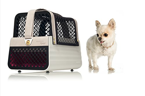 Crash Tested Dog Carry on for Small Dogs | Penthouse Los Angeles | Safe Transportation of Small Dogs in a Car | Safe Dog Carrier | 4 Pets