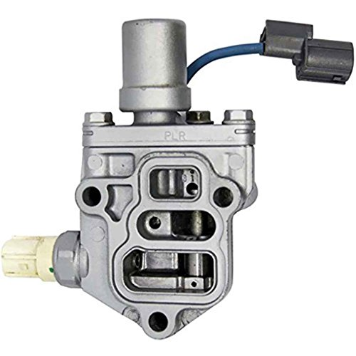 (Vehicle Car Auto Camshaft Solenoid Spool Valve 15810-PLR-A01 for 2001-2005 Honda Durable Replacement Accessory Topker )
