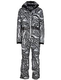 Emporio Armani EA7 men's ski suit jacket trousers winter black US size M (US 38) 6XPG16 PN56Z 1200