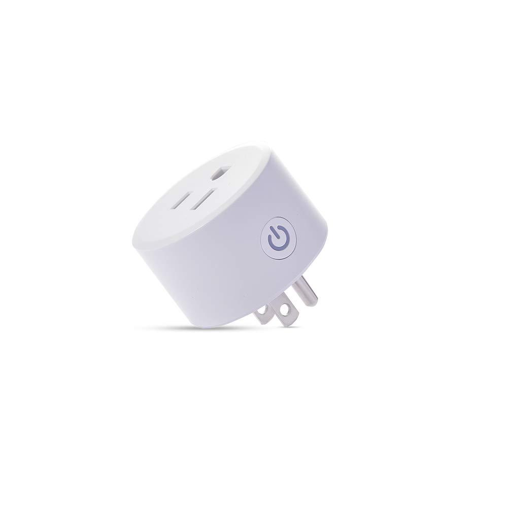Zigbee Smart Plug Compatible with Alexa Echo Plus SmartThings Hub (Hub Required) Google Home Voice Pairing Zigbee 3.0 Does NOT Support Phillips Hue