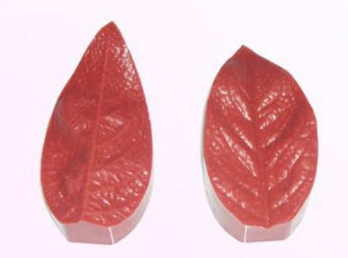 Fat Daddio's Silicone Veiner Mold, Lily Leaf, 73mm by 35mm by 19mm