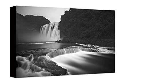 Watermark Waterfall (Watermark Collection 7115 Waterfalls Wrapped Canvas Print)