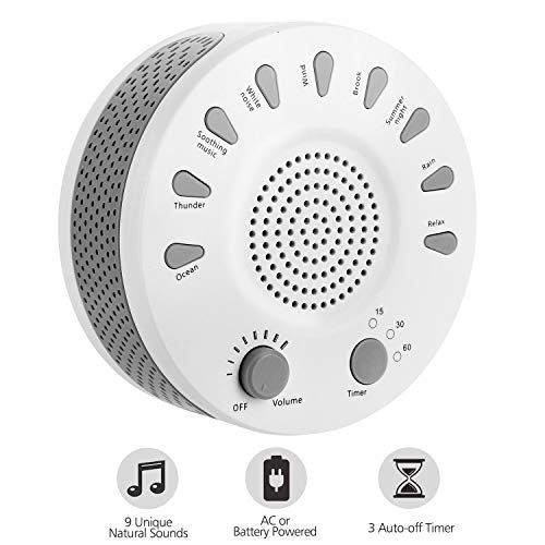 Sleep White Noise Machine Portable Sound Therapy for Baby an