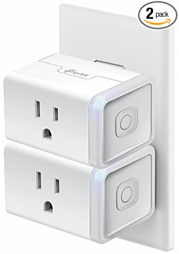 Kasa Smart WiFi Plug Mini by TP-Link – Smart Plug, No Hub Required, Works  with Alexa and Google (HS105 KIT)
