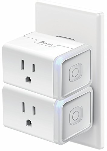 Kasa Smart WiFi Plug Mini by TP-Link - Smart Plug, No Hub Required, Works with Alexa and Google (HS105 KIT) by TP-Link