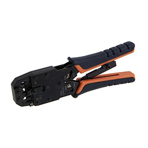 CableCreation Crimp Tool (Cutting & Stripping Tool) for 8P8C/RJ-45 6P6C/RJ-12 6P4C/RJ-11 4P4C [並行輸入品] B078QGMDLZ