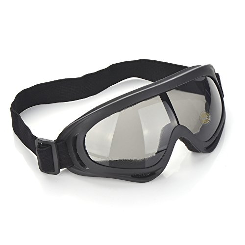 CFIKTE goggles, goggles tactical glasses, cross-country goggles, ski skating mirror, polarized outdoor riding glasses (Gray)