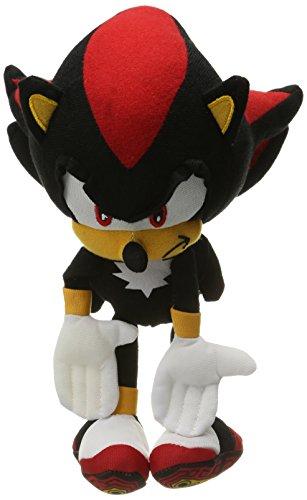 """Sonic The Hedgehog Shadow 10"""" Plush Doll NWT! FAST SHIP!!"""