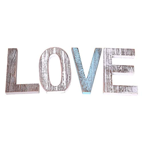 "Comfify ""Love"" Decorative Wooden Letters"