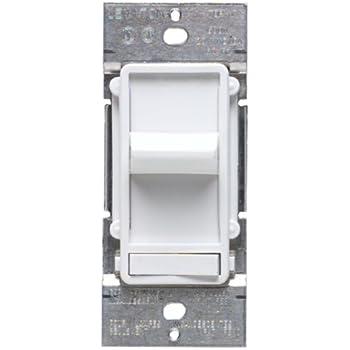 leviton 6633 w white decora sureslide illuminated slide. Black Bedroom Furniture Sets. Home Design Ideas