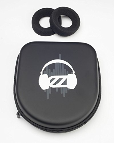 EARZONK Deluxe Leatherette Travel Case Compatible with Grado Headphones