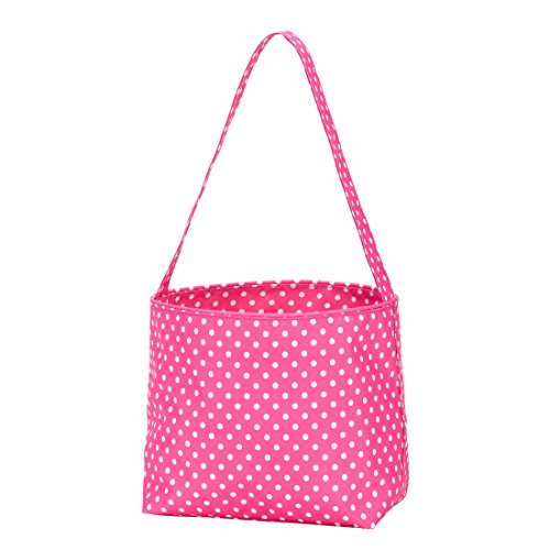 Pink Small Dot Easter Basket Bucket