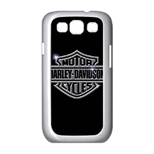 Samsung Galaxy S3 9300 Cell Phone Case White Harley Davidson OJV Cell Phone Cases Protective Plastic