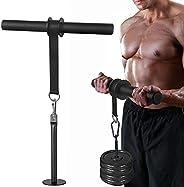 Forearm Wrist Roller Forearm Blaster and Hand Strength Grip Training Exerciser with Anti-Slip Foam Handles for