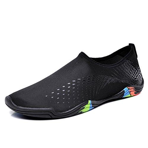 Jindeng Femmes De Shoes Barefoot Plage Chaussures Yoga Rapide Noir Chaussettes Snorkeling Schage Hommes Water Surf Natation Aqua Plonge Respirant qA4AnrW