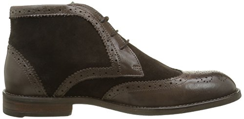 Braun Whiskey para Botines Hombre NOBRAND Coffee qxYPw18UH