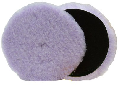Lake Country Foamed Wool Buffing/Polishing Pad, 6.5-inch