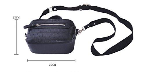 Otomoll Mode Mini Crossbody Frauen Geldbeutel Wallet Pu-Schultertasche Handtasche
