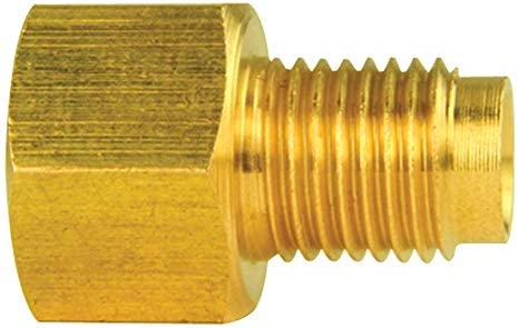 """BRAKE LINE ADAPTER 3//8 X 24 MALE to 7//16 x 24 FEMALE 1//4/"""" line"""