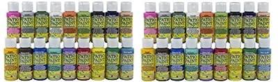 DecoArt Acrylic Patio Paint Fan Favorites Sampler Set