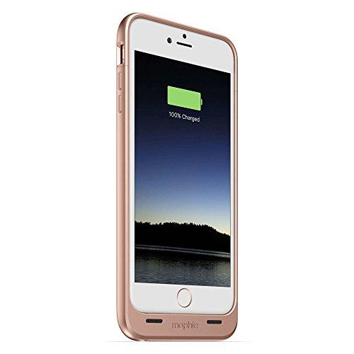 Mophie iPhone 6 Plus/6s Plus juice pack Compact Boîtier de Batterie - Or Rose