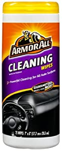 Armor All 10863 Cleaning Wipes - 25 sheets