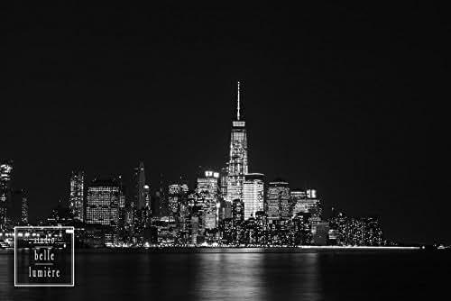 Amazon.com: Lower Manhattan New York City Skyline at Night