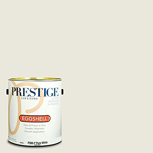 Prestige Paints Interior Paint and Primer In One, 1-Gallon, Eggshell,  Comparable Match of Benjamin Moore Dove Wing