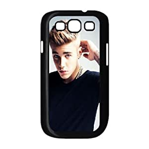 Samsung Galaxy S3 Case Luxury Brand Justin Bieber Celebrity, Justin Bieber Samsung Galaxy S3 Cases for Girls Cheap [Black]
