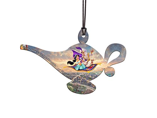 Trend Setters Disney Aladdin Hanging Acrylic - Thomas Kinkade Art
