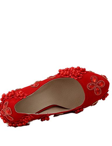 cn41 Fiesta us9 Zapatos boda 4in eu40 Vestido us9 4in 3 y Tacones Rojo 4 Tacones de 4 uk7 Boda uk7 Mujer cn41 4in cn38 3 Noche 5 eu40 uk5 eu38 ZQ 5 4in 3 4 4in 4in us7 pqw0w