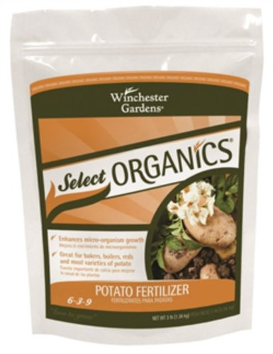 Winchester Gardens NPK 6-3-9 Select Organics Potato Granular Fertilizer, 3-Pound
