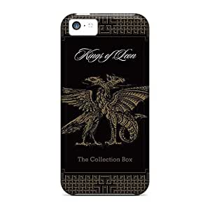 Iphone 5c AGC5041LDiy Customized High-definition Kings Of Leon Band Image Scratch Resistant Hard Cell-phone Case -AshleySimms