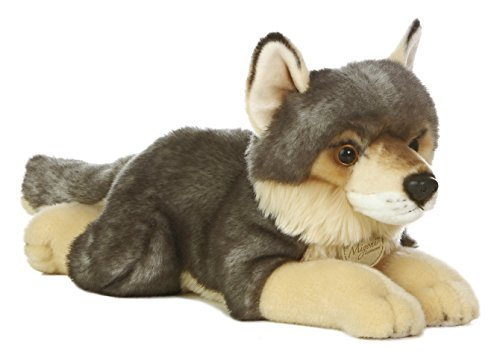 Aurora World Miyoni Wolf Plush, 16""