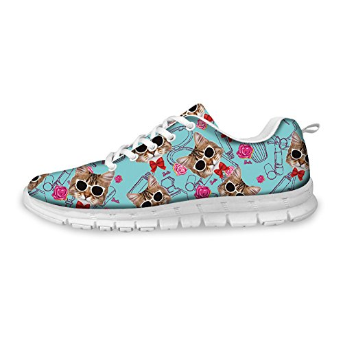 Mujer Coloranimal Informales Cat ColoranimalK CC406AQ3 Design para 3 RAAxIFrq