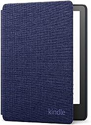 Capa de tecido para Novo Kindle Paperwhite (11ª geração - 2021) - Cor Azul Marinho