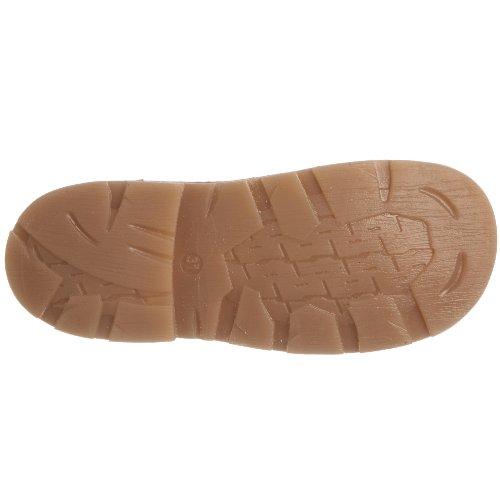 Hush Puppies Sammy Inf - Zapatos de punta redonda de niños con cierre de cordón marrón