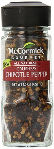 McCormick Gourmet Crushed Chipotle Pepper, 1.5 Ounce by McCormick by McCormick