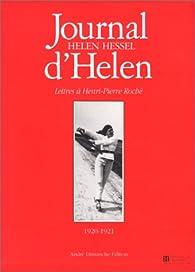 Journal d'Helen par Helen Hessel