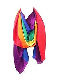 Gay LGBT Pride Rainbow Pashmina Scarf