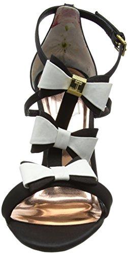 Multicolore Fermés Baker black white Femme Appolini Ted Talons aX7Pxq