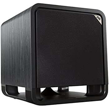 Polk Audio 12 Inches 400 Watts Home Theater Subwoofer Black Walnut (HTS SUB 12 BLK WAL)