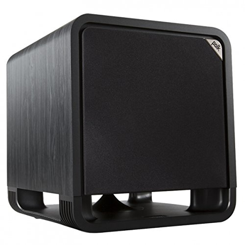 "Polk Audio 10"" 100W Powered Subwoofer Black Washed Walnut HTS10 SUB BLK"