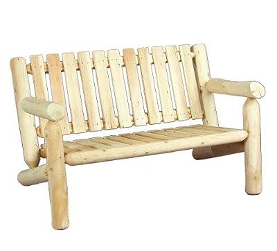 Cedarlooks 0100006 4-Feet Log Cedar Bench
