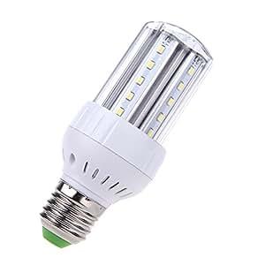 XuMarket™ 2835 SMD 100-240V E27 5 W 30Leds maíz luz ahorro de energía bombilla Led 360 Degree Blanco caliente/blanco brillo