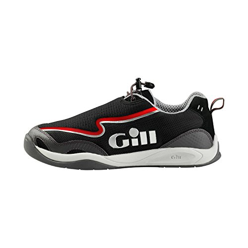 Gill Pro Racer Performance Trainer in BLACK/Red 940