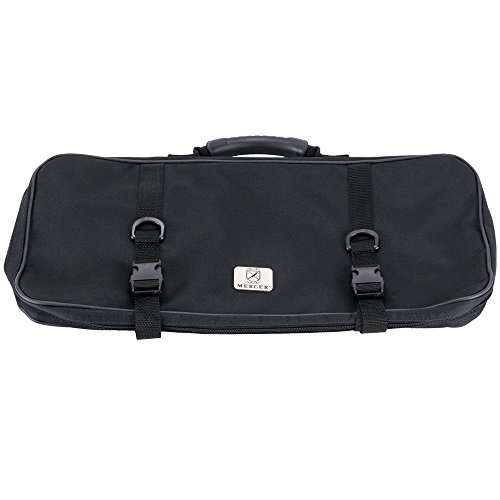 Mercer M30512M 12 Pocket Single-Zip Knife Case by MERCER