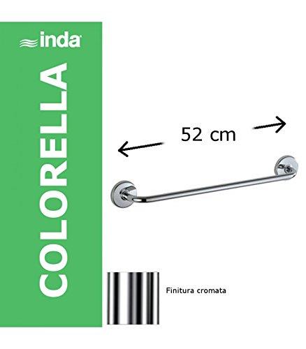 A2390B INDA Colorella portasalviette L.52 Cromo